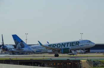 frontier airlines flight attendant